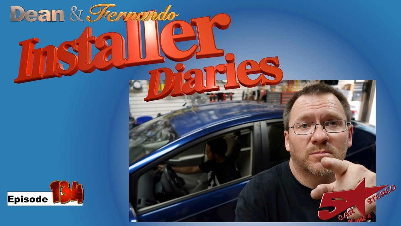 A Ford F150 gets an Amp and a Toyota Prius gets a new radio Installer  Diares 134