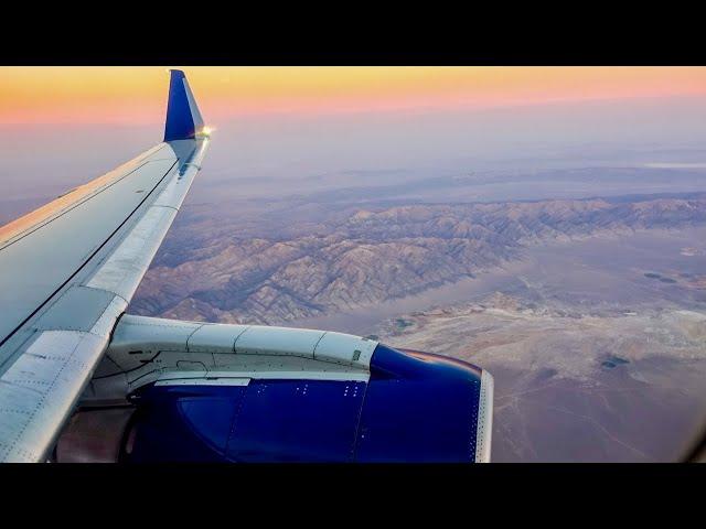 DELTA AIRLINES ERJ-175 / Fresno to Salt Lake City / 4K Video