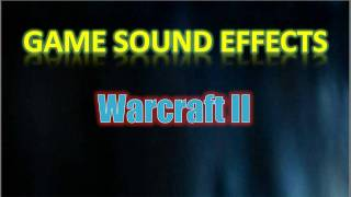 Warcraft II Sound Effects - Human, Peasant: