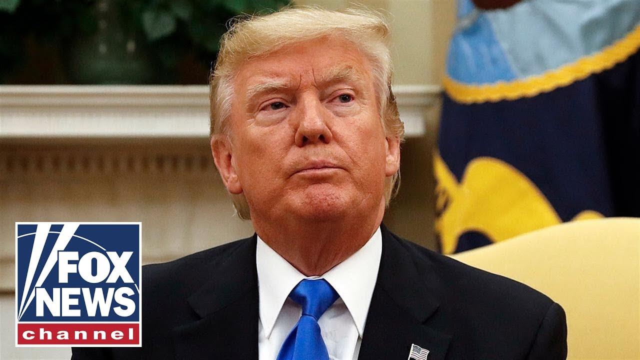 FOX News Trump slams Biden's call for impeachment: He's 'dropping like a rock'