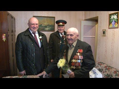 Поздравление ветеранов с Великой Победой