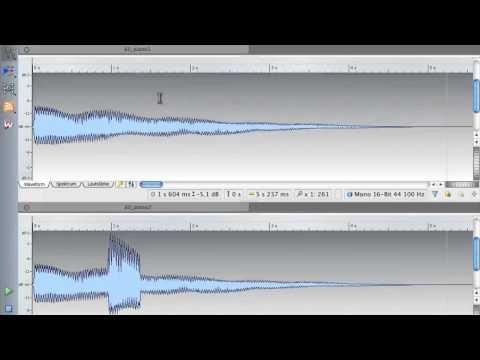 Hands On Wavelab 7 - Aufnahme, Analyse und mehr (Ausschnitte)