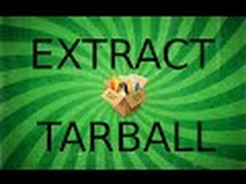 How To extract tar.gz files via the Linux Terminal