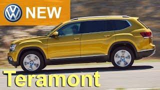 видео Volkswagen Teramont 2018: комплектации и цены (новые), фото