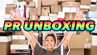 Download lagu MY BIGGEST PR UNBOXING HAUL EVER not clickbait Roxette Arisa MP3