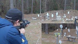 Rimfire Vertical Spinner Target - Great Training!