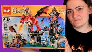 LEGO Dragon Mountain 70403 LEGO Castle Review