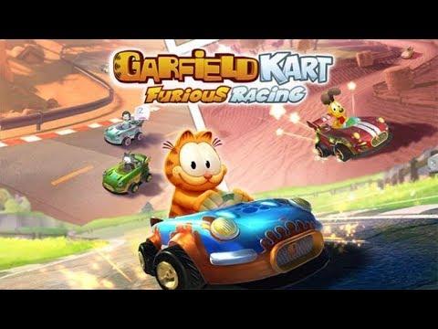 Garfield Kart – Furious Racing Game Play Walkthrough / Playthrough |