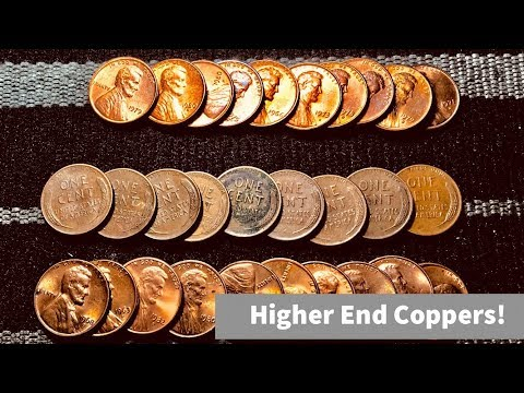 Awesome Box! Lots Of Wheats & Higher End Copper Cents