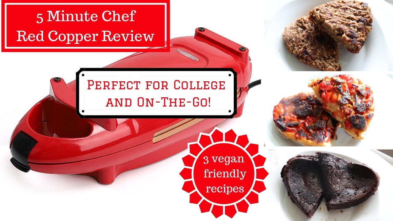 Red Copper 5 Minute Chef Vegan Review 3 Quick Vegan Recipes