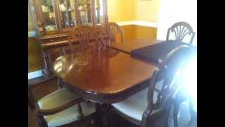 Asheville Movers See Dining Room Set For Sale In Wnc Hendersonville Nc