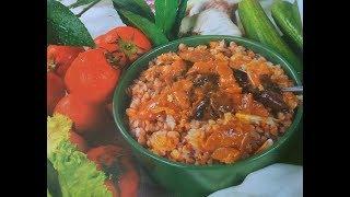 Гречневая каша с овощами – быстро, просто и вкусно.