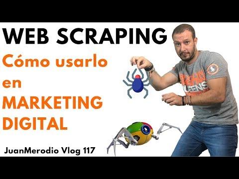 WEB SCRAPING, CÓMO USARLO EN MARKETING DIGITAL