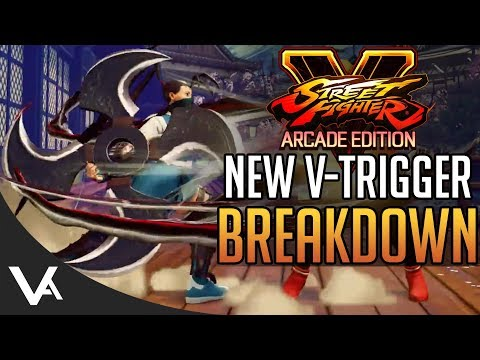 SFV - New V-Trigger Breakdown! New Combos & Moves For Street Fighter 5 Arcade Edition