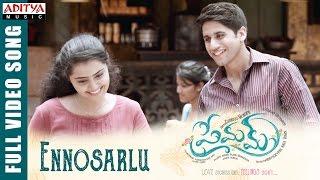 Ennosarlu Full Video Song    Premam Full Video Songs    Naga Chaitanya, Shruthi Hassan, Anupama