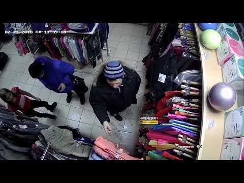Новосибирск. Воришки в магазине.