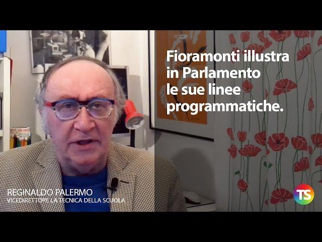 Fioramonti illustra in Parlamento le sue linee programmatiche
