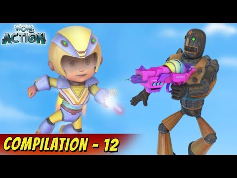 VIR: The Robot Boy Cartoon In Hindi | Compilation 12 | Hindi Cartoons for Kids | Wow Kidz Action