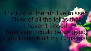 Gwen Stefani Santa Baby Lyrics