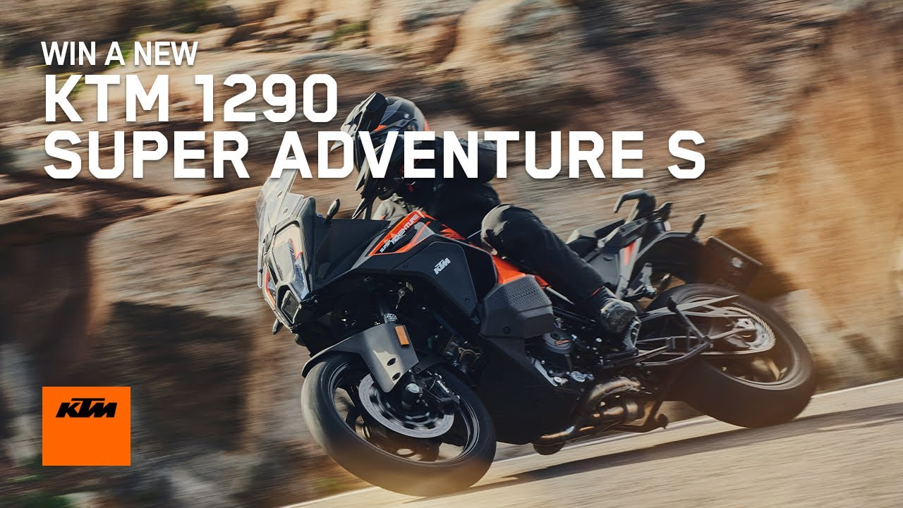 Win a KTM 1290 SUPER ADVENTURE S with THE WORLD ADVENTURE WEEK | KTM