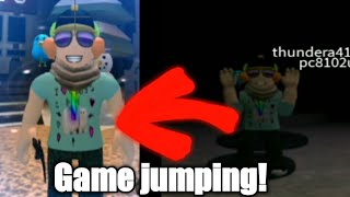 Game jumping! | Roblox Adventures