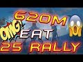 K328 GETTING CRAZY - 25 RALLY AT ONCE - LORDS MOBILE