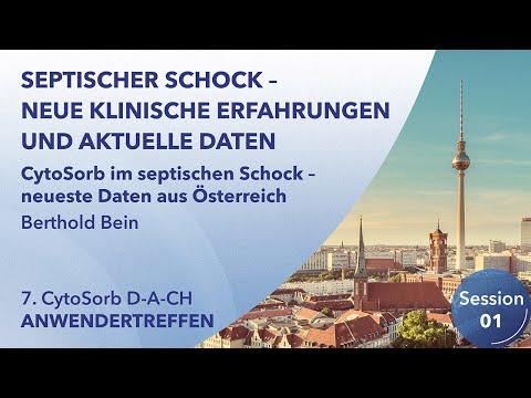 CytoSorb im septischen Schock - neueste Daten aus Österreich - Berthold Bein