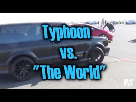 "Typhoon vs ""the world"""