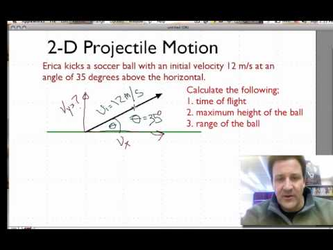 projectile velocity and ball The initial velocity how long will it take for the ball to smack back into the surface in the projectile motion formula.