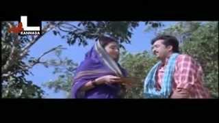 Mohan in a farm with a women (Comedy) | Malla | Kannada Movie scene