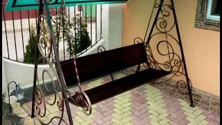 Уличные кованые качели для сада, для дачи, качели для детей(, 2016-09-14T10:47:59.000Z)