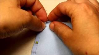 Cours couture pour apprendre à coudre un ourlet sur un angle. Pas à pas avec plein de photos de cette technique de base sur ...