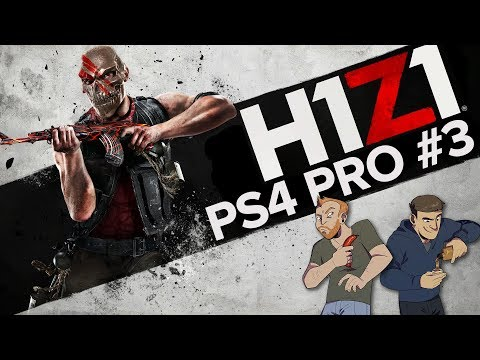Let's Play H1Z1 PS4 gameplay - LIVE H1Z! PS4 PRO GAMEPLAY!