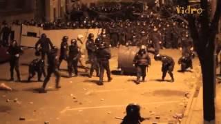 Киев Штурм Банковой 01 12 13 ACAB in Ukraine Беркут избил митингующих