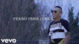 Video Tekno Yawa Full Lyrics download MP3, 3GP, MP4, WEBM, AVI, FLV Oktober 2018