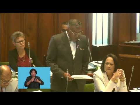 Fijian Minster for Industry responds to question on mangroves