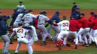 Coco Crisp and James Shields ignite brawl in Boston