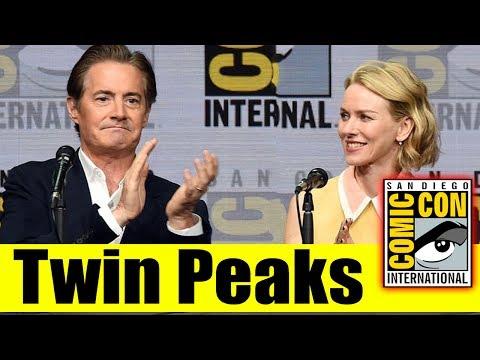 TWIN PEAKS | Comic Con 2017 Full Panel & News (Kyle MacLachlan, Naomi Watts, Tim Roth,Laura Palmer)