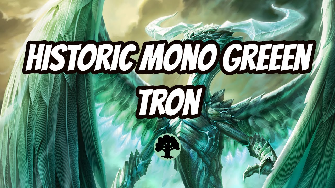 Historic Mono Green Tron - Games Do Not Last Long When You Play Ugin On turn 4 - MTG Arena