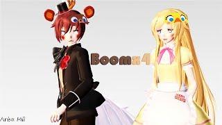 -MMD x FNAF- Boomx4