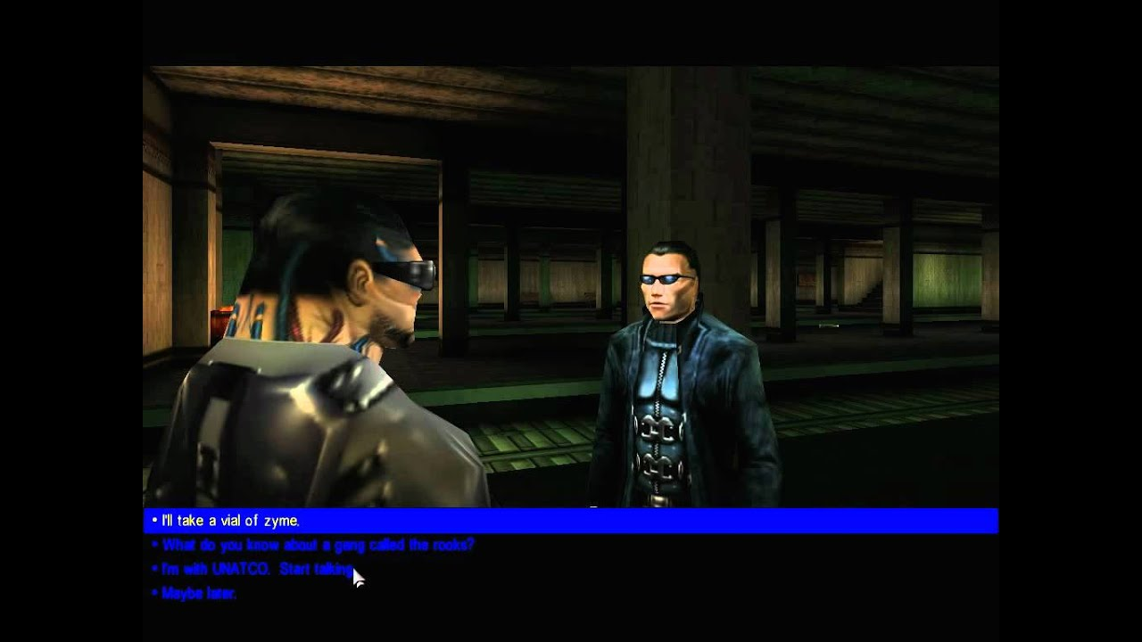 Lets Play Deus Ex 12 Searching For The Mole People Youtube