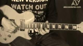 Обучение игре на гитаре - Eagles - Hotel California - учимся играть медленно и уверенно