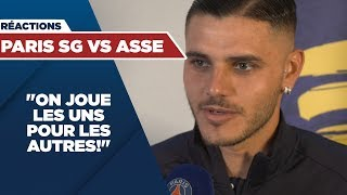 VIDEO: REACTIONS : PARIS SAINT-GERMAIN vs SAINT-ETIENNE
