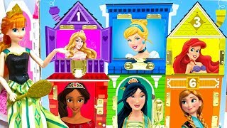 Anna Frozen Disney Princesses Classic Dress Up Matching Dollhouse Cosplay Best Learn Characters