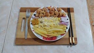 طريقة رائعة وشهية لقلي الجمبري مع الشيف عمر