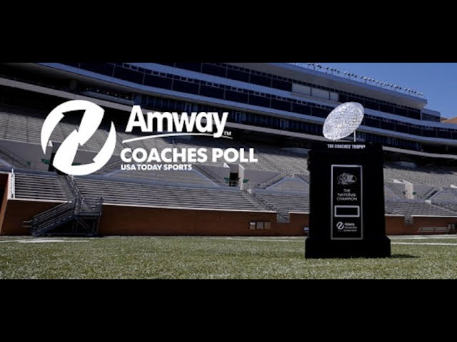 College Football Coaches Poll Top 25 rankings released