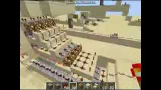 Redstone Tutorial - Triple Piston Portcullis (Part 1) *TU12 & 1.7.2 compatible
