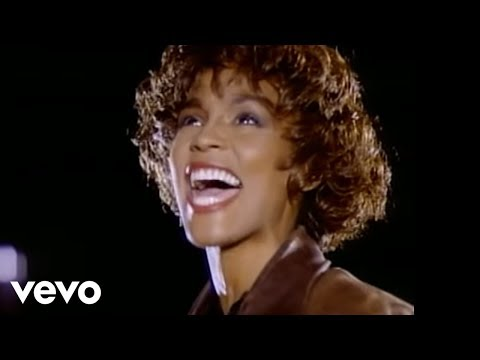 Whitney Houston I'm Your Baby Tonight (Official Video)