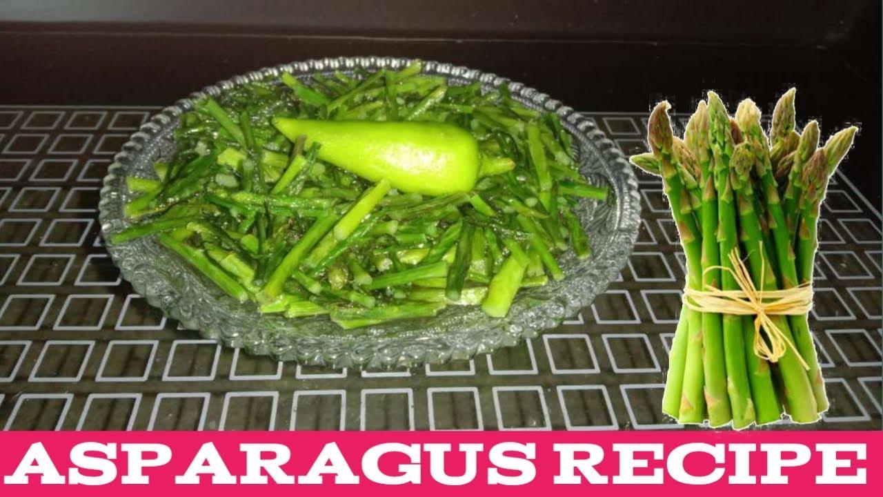 Asparagus Recipe | एस्परैगस | शतावर विधि | Shatavari