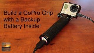 Video DIY GoPro Grip Handle with Internal Backup Battery - Easy To Build! download MP3, 3GP, MP4, WEBM, AVI, FLV Oktober 2018